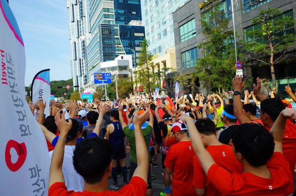 2019釜山海マラソンスタート