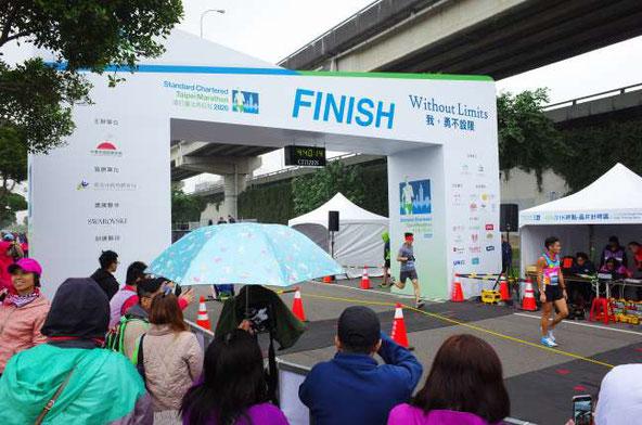 SC台北マラソン2020FINISH