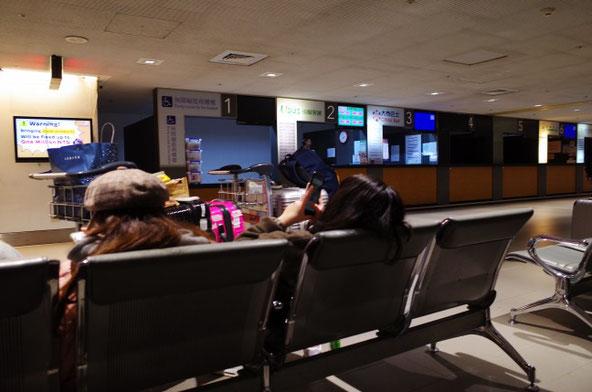 桃園国際空港1タミバス乗り場