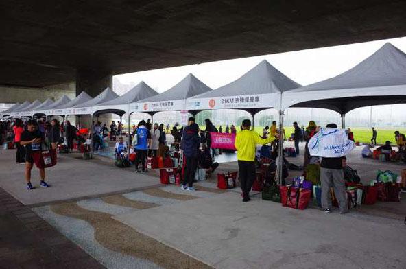 SC台北マラソンゴール地点