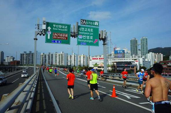 釜山海マラソン