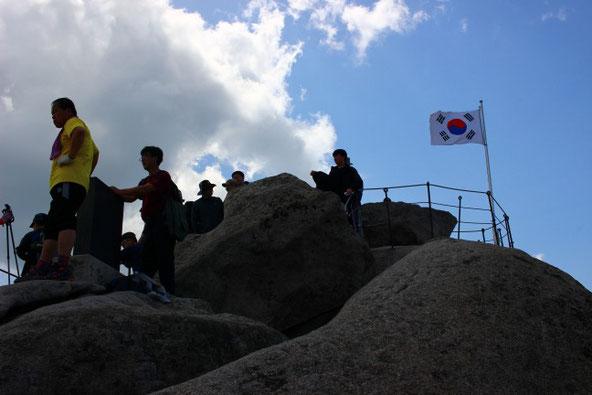 白雲台山頂