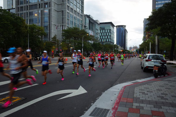 台北マラソン2019 フルマラソン