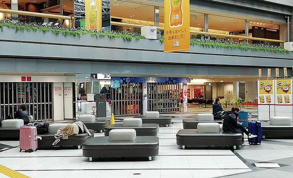 新千歳空港の早朝