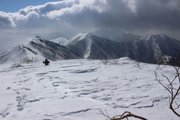 ユニ石狩岳雪山