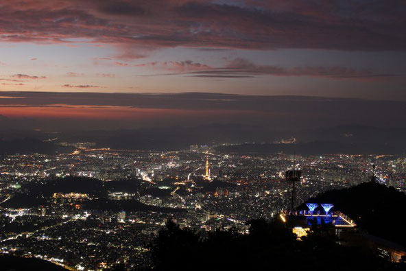 大邱アプサン夜景