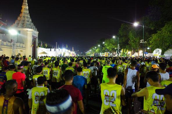 バンコクマラソン2019スタート
