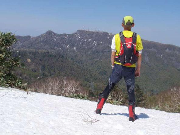 峰越から手稲山