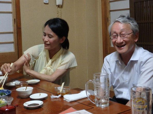 川口先生との写真