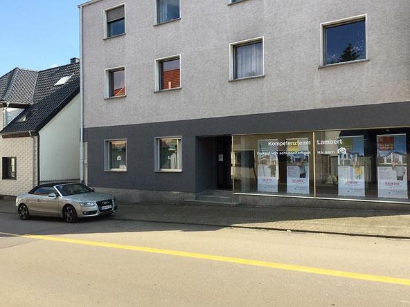 Heinz von Heiden Vertrieb Carolin Lambert unsere Niederlassung im Saarland Büro, Ausstellung