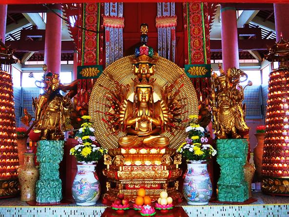 Chinesischer Tempelschrein in den Cameron Highlands