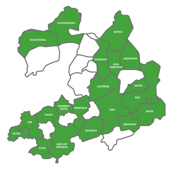 Tips voor Fietsers - Fietsgids Antwerpse Kempen 2021 - In deze fietsvriendelijke gemeenten kan je de gidsen afhalen