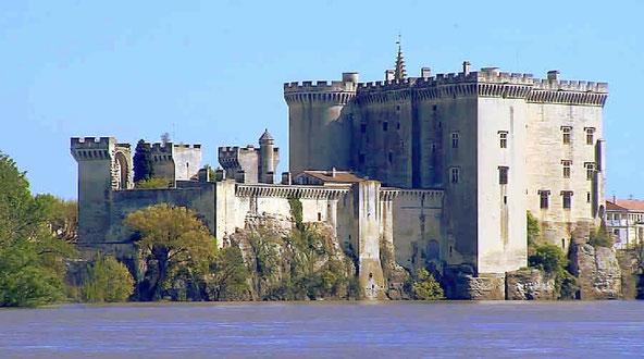 The feudal castle in Tarascon