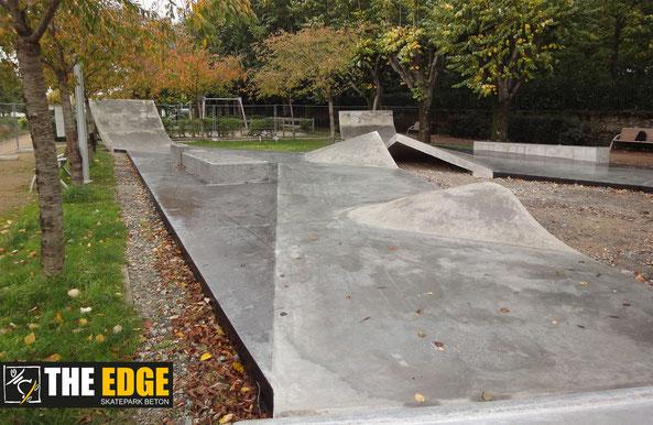 THE EDGE SKATEPARK BETON - La Roche sur Yon