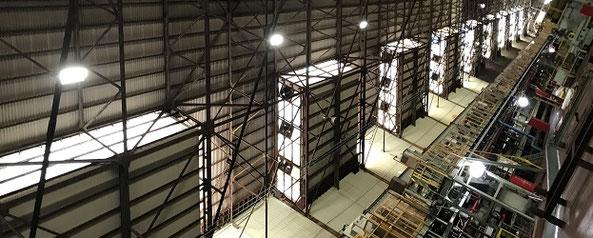 腐食対策LED水銀灯導入実績