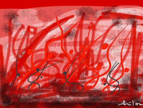 Ipad Art 4 – Fukushima – 11/03/2011