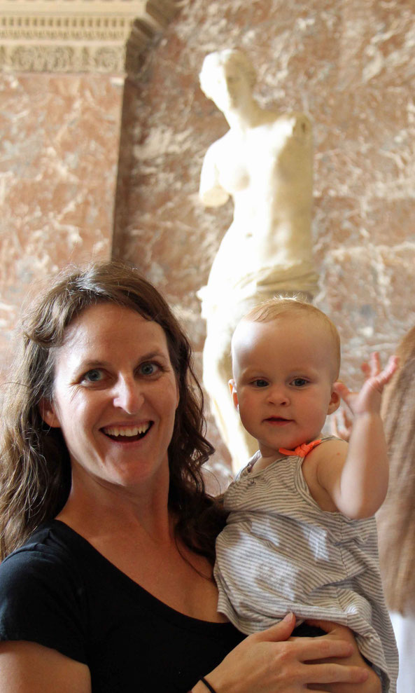 12 Reasons Why Europe Is the Best Place to Travel with Your Kids - Taking the kids to the Louvre