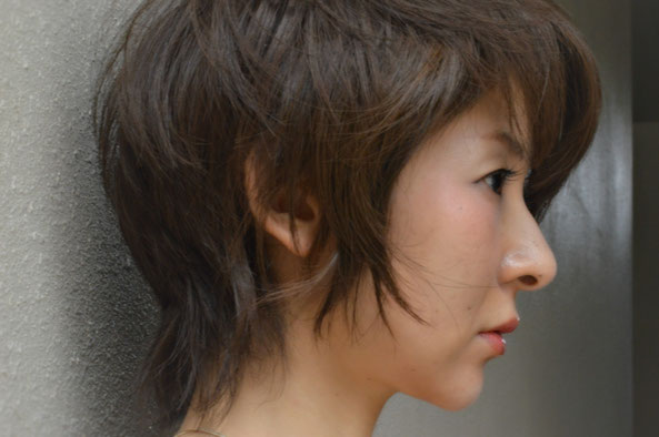 福岡 平尾美容室 ショートヘア