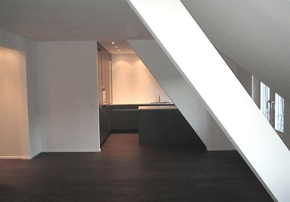 Innenarchitektur Dachstockausbau Zürich