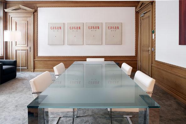 Innenarchitektur und Planung für Sitzungszimmer in Zürich