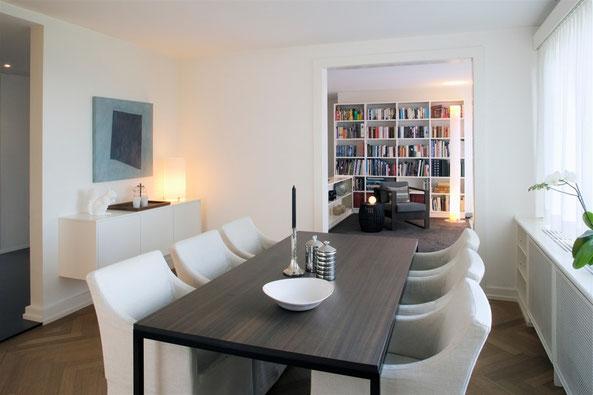 Planung und Innenarchitektur 8-Zimmer-Wohnung Höngg