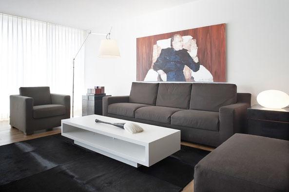 Innenarchitektur Zürich Inneneinrichtung Wohnberatung Zürich Planung und Innenarchitektur 5-Zimmer-Wohnung Meilen