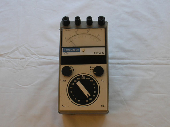 Hartmann & Braun  Universal Multimeter Typ. Elavi 5