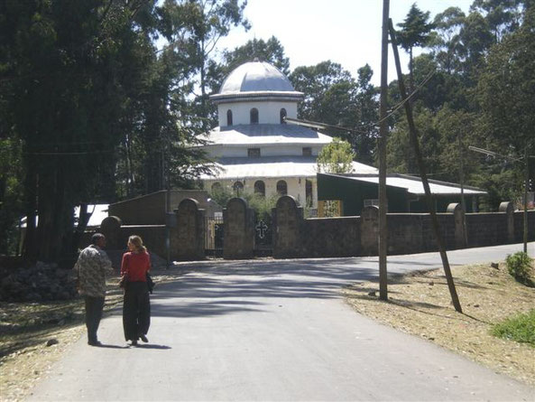 Grande ferveur des chrétiens comme en témoignent les nombreux lieux de culte du rite copte éthiopien