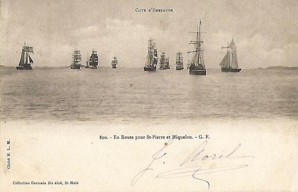 Carte postale datant du début du 20eme siècle ; collection personnelle.