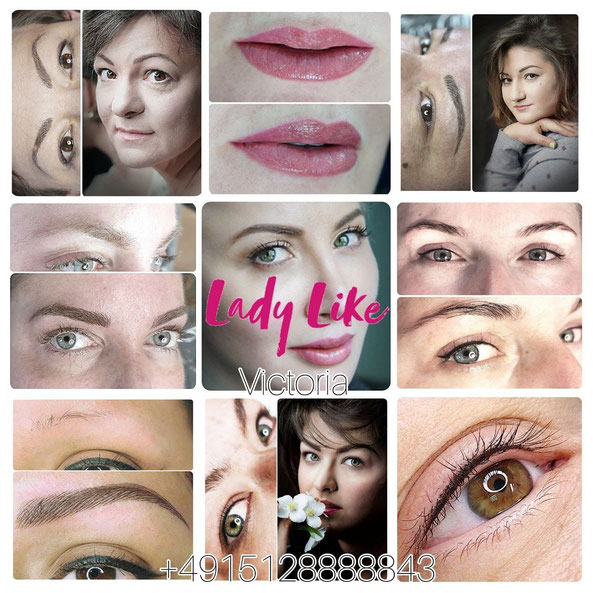 Permanent Make-up und Microblading by LadyLikeVictoria