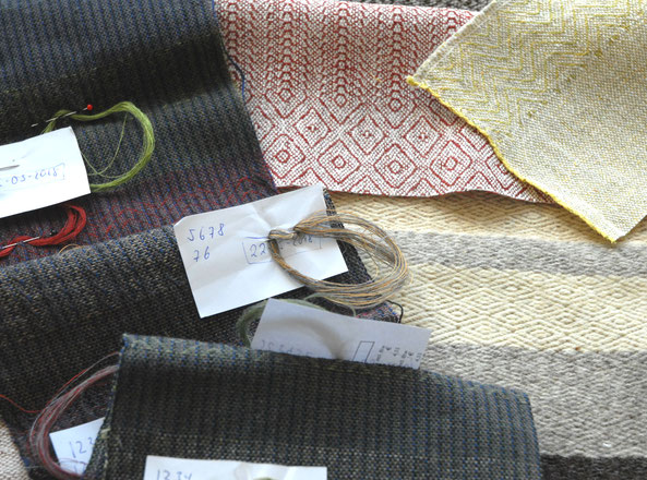 have a look at the colourfull archive and fabrics library from workshop handwoven KLEE