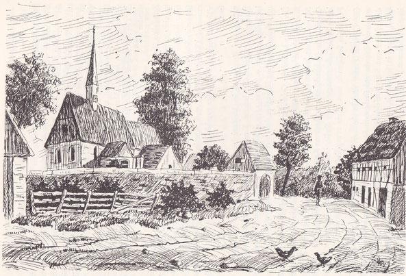 Bild: Seeligstadt Sachsen um 1830