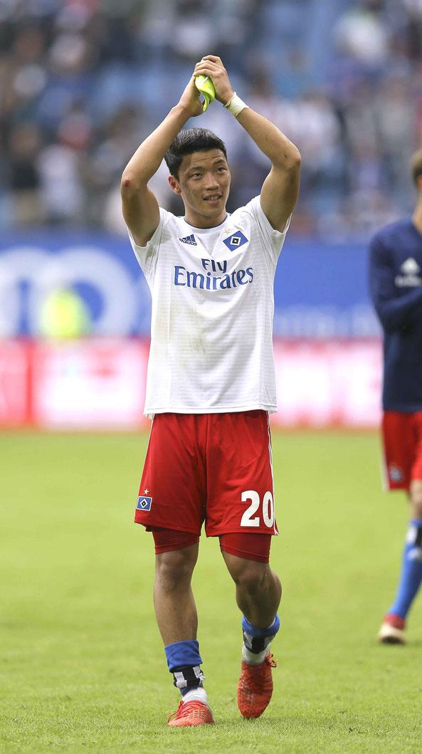 HSV-Neuzugang Hee-Chan Hwang. Foto: CB