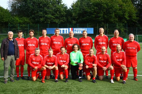 Die All Stars des SC Norderstedt im CITTI FUSSBALL PARK in Kiel-Projensdorf