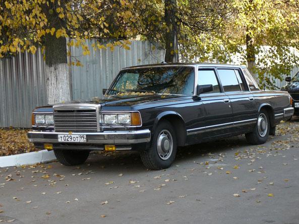Легковой автомобиль ЗИЛ-41041. 21-й НИИ Бронницы. 16.10.2009