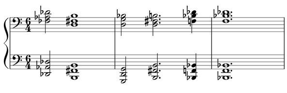 thème partition musique Kadath harmonie