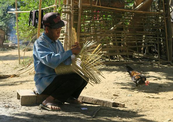 Fabrication de panier à sticky rice