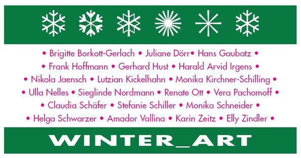 Amador Vallina auf der Gemeinschaftsausstellung WINTER_ART im Kunstforum Rheinhessen