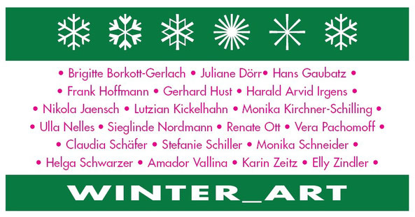 Winter Art: Group Exhibition at Kunstforum Rheinhessen, Essenheim, Germany