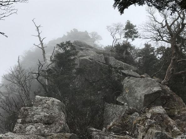 大日岳の行場