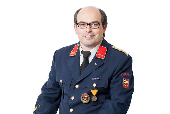 Orstfeuerwehrkommandant OBI Gottfried Duller