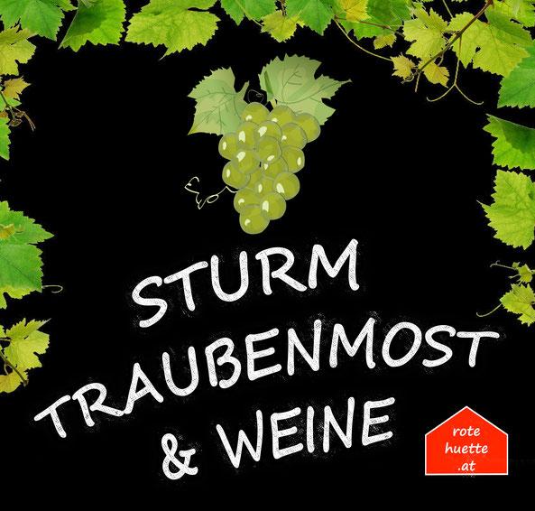 Sturm, Most, Steirer Rudi, Schilcher Sturm, rote hütte, landgut weghofer,  Sturm Bezirk Mödling, 2340, 2331, Wien Süd, 2332