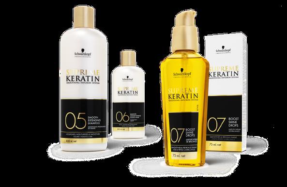 Schwarzkopf - Supreme Keratin - Haarglättung - Premium - Strait Therapy - Packaging - Design - DesignKis - 2012 - Verpackung