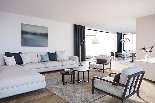 Planung und Innenarchitektur 7,5-Zimmer-Wohnung