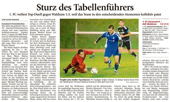 Ga-Pa Tagblatt vom 26.10.2016