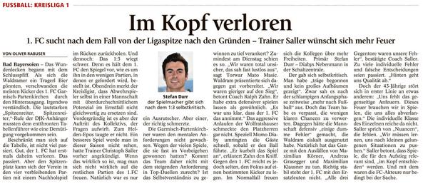 Ga-Pa Tagblatt vom 27.10.2016