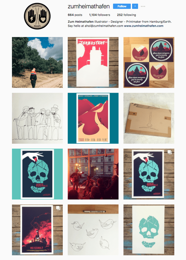 Ejemplo de una buena estrategia para atraer clientes en Instagram