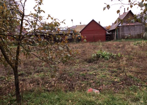 Garten im Sommer 2015 (bevor es für das Kindertageszentrum genutzt wurde)