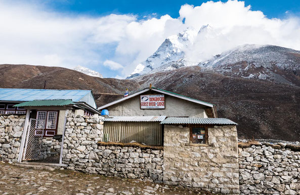 Unsere Lodge in Dingboche