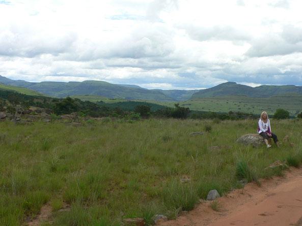 Drakensberge, Ruth hofft auf besseres Wetter